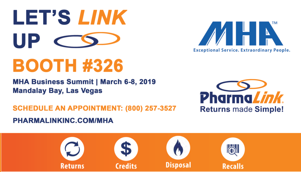 PharmaLink to Attend MHA Business Summit at Booth #326